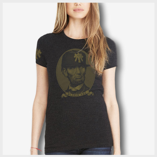Blazin Abe Babe Front 420 Apparel Mad Toto