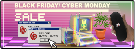 Black Friday / Cyber Monday Toto Sale